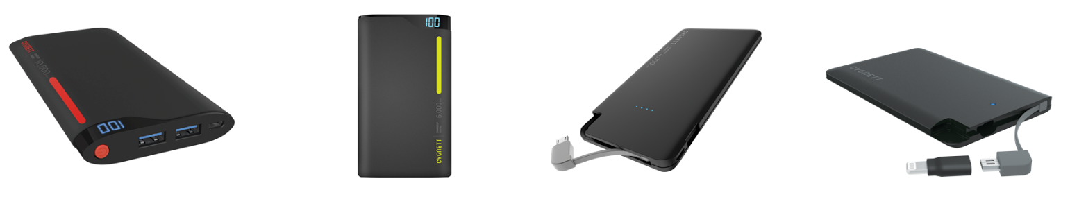 Cygnett Portable Power Chargers