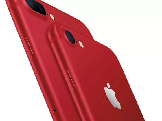 iphone 7 and iphone 7 plus RED