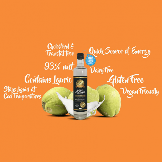 CocoEarth Liquid Coconut Premium Oil PLUS RECIPES! 2