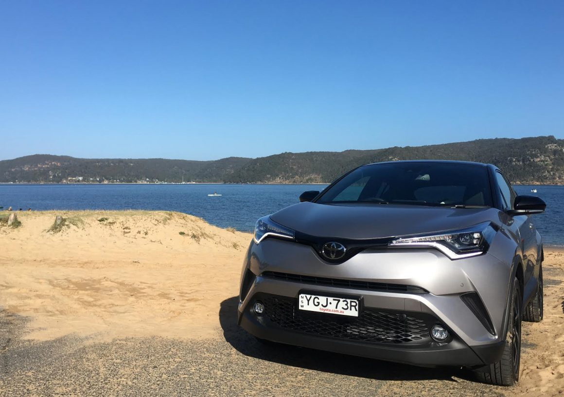 We Drove the Toyota C-HR Koba 3