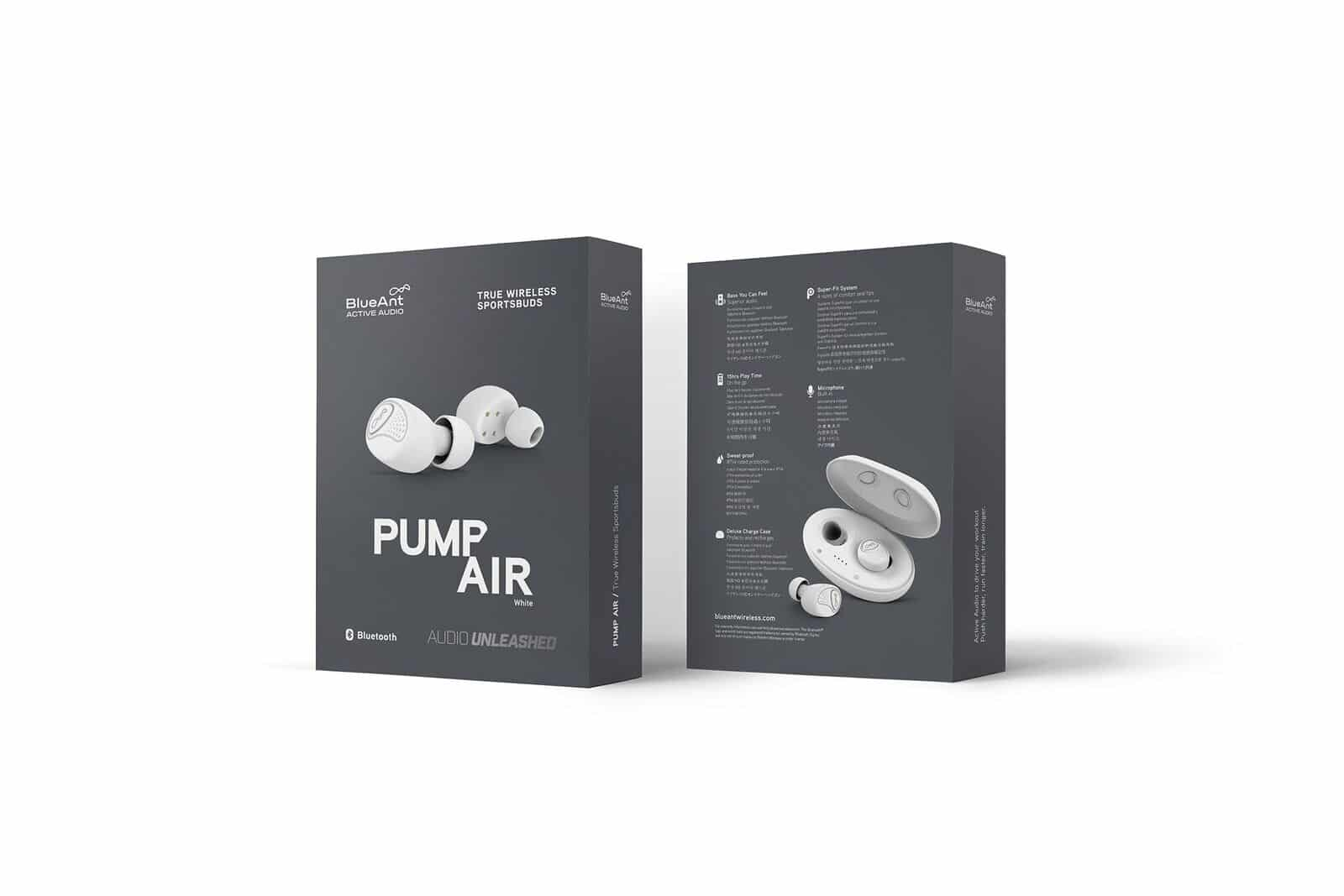 BlueAnt Pump Air Earbuds
