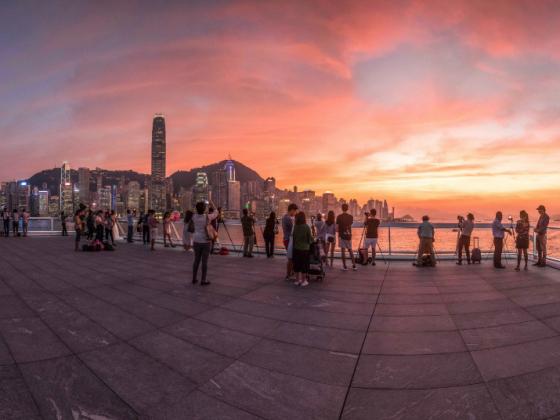 Ocean Terminal Deck Hong Kong