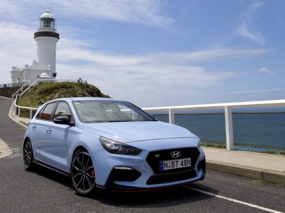 Byron Bay Lighthouse in the New Hyundai i30 N Performance Car 2