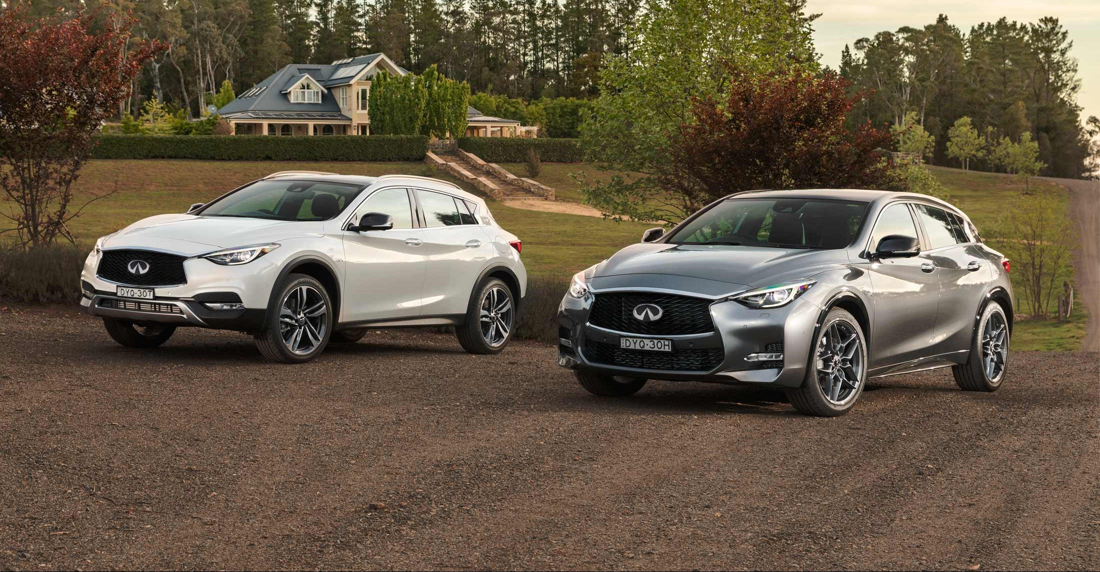 Infiniti Cars: Q30 and QX30 7