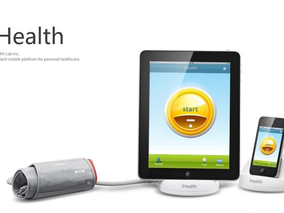 iHealth Checks Your Blood Pressure 1