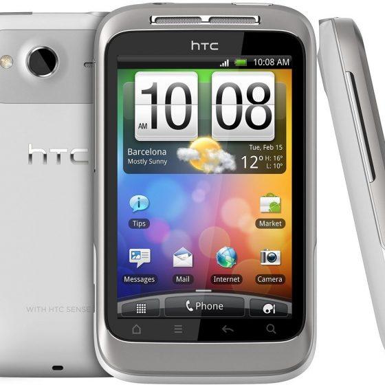 HTC Wildfire S 4