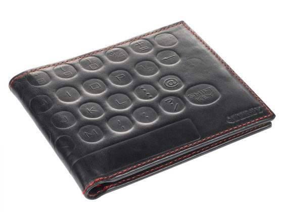 QWERTY Leather Wallet 1