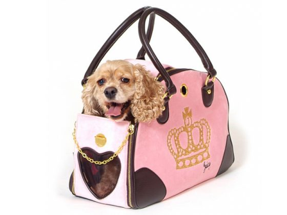 Crown Juicy Couture Dog Carrier 1