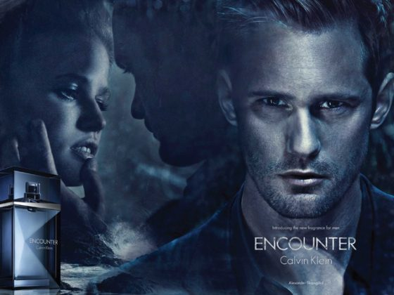 Alexander Skarsgård for Calvin Klein's Encounter 2