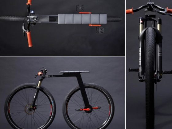 J Ruiter's Super-Minimal City Bike 2