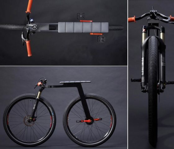 J Ruiter's Super-Minimal City Bike 2