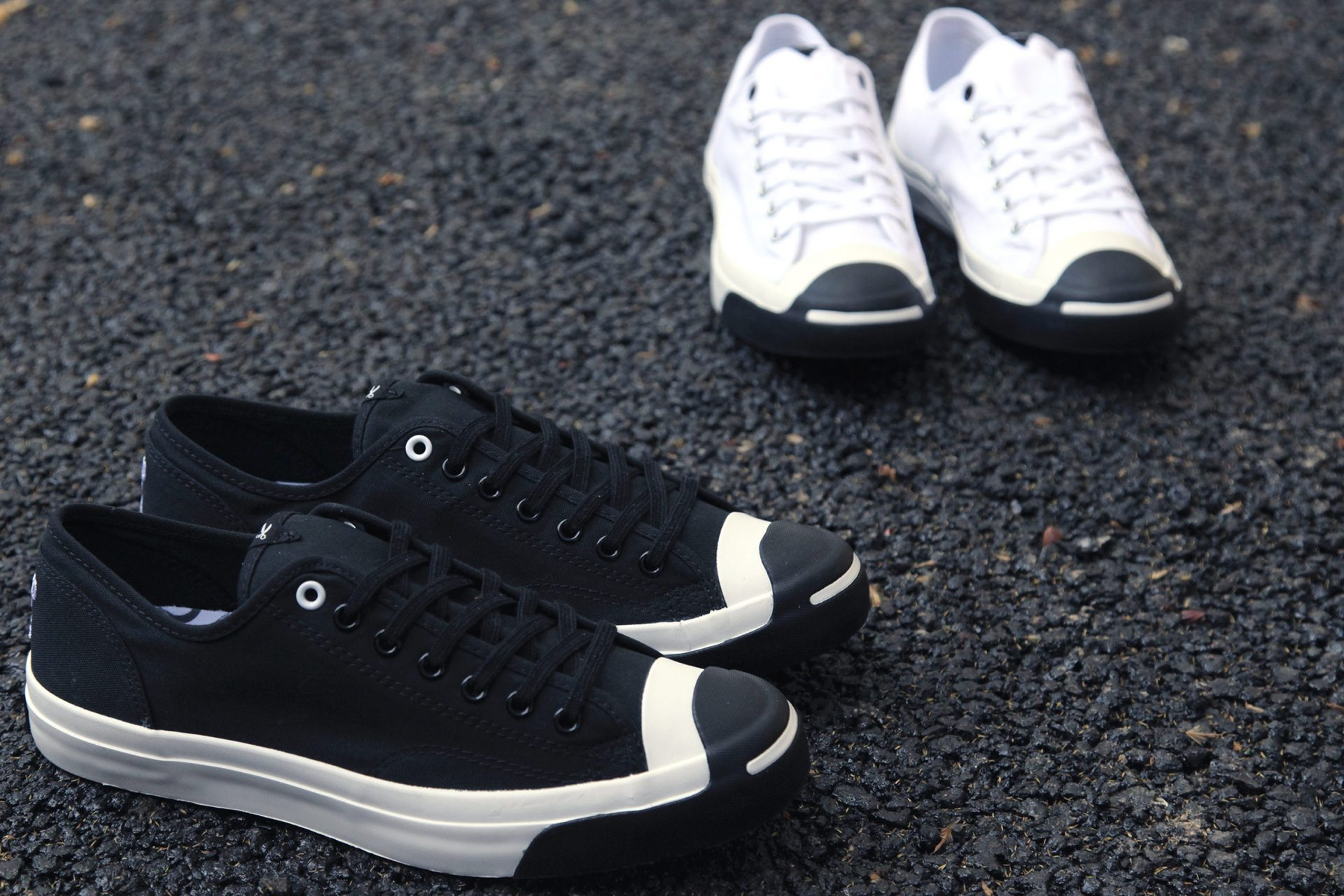 Converse and Jack Purcell