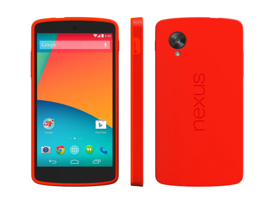 Google-Nexus-5-Red