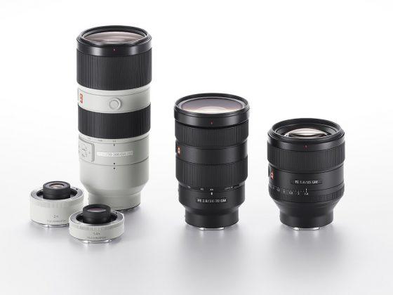 G Master Brand of Interchangeable Lenses 1