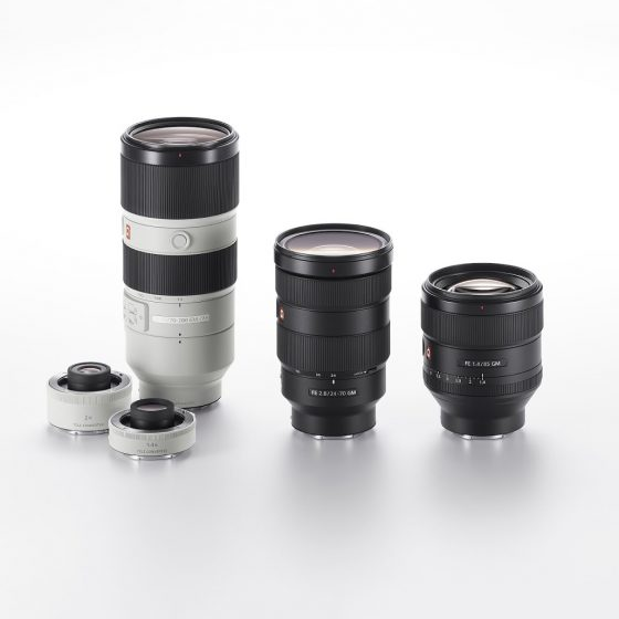 G Master Brand of Interchangeable Lenses 3