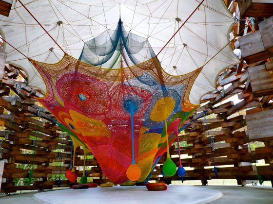 Artist MacArthur's 'Wonder Space' Is Just That 1