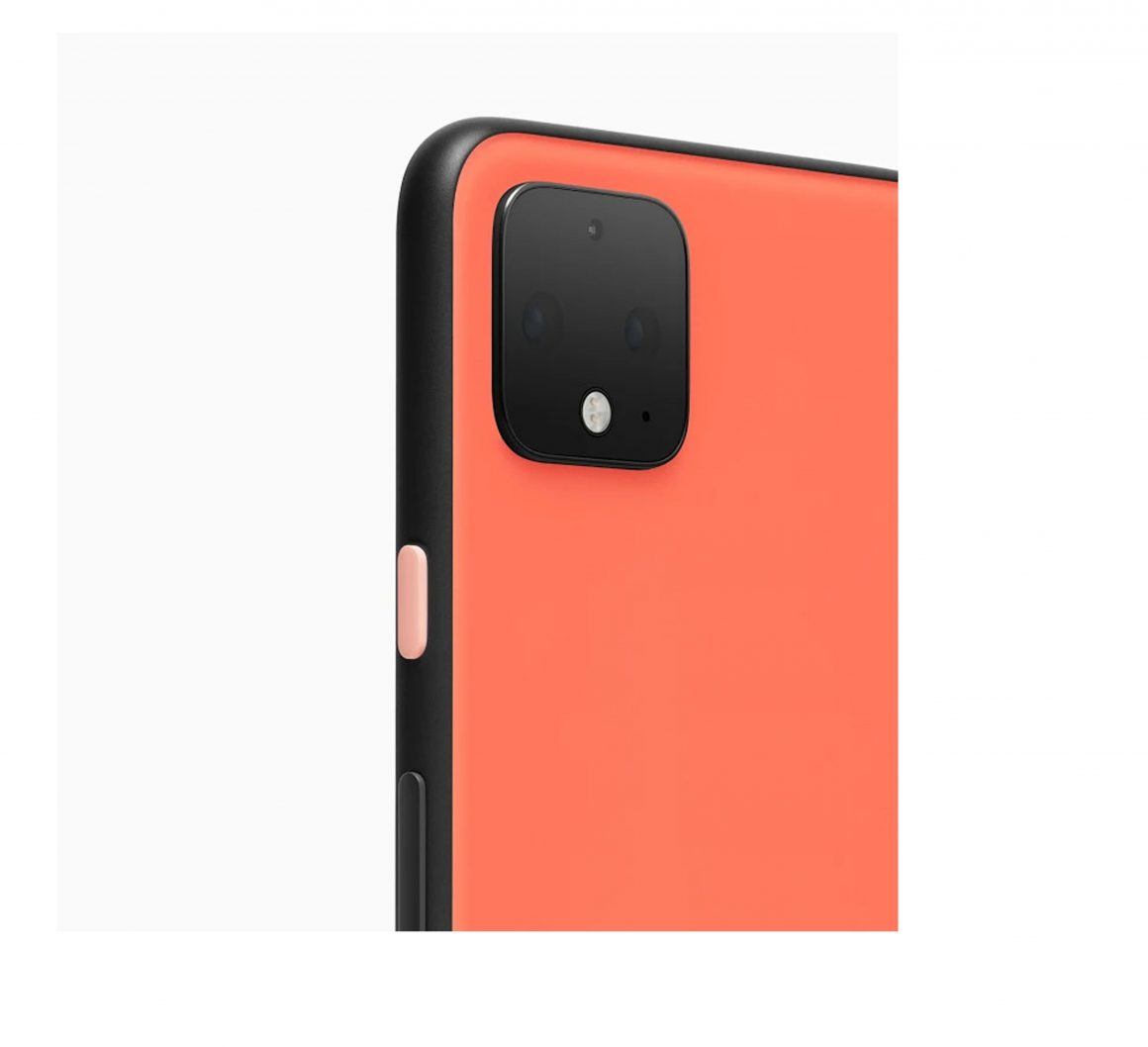 Google Pixel 4 XL Duo Front in Just Black jpg back