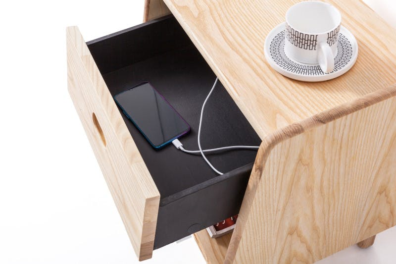Ecosa Bedside Table: Blocking 90% Radiation 4
