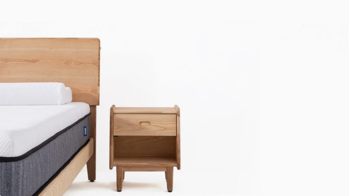 Ecosa Bedside Table: Blocking 90% Radiation 2
