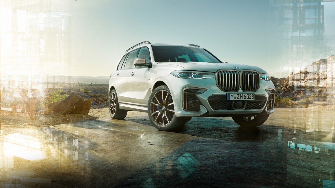 BMW X7 : Space For Freedom 1