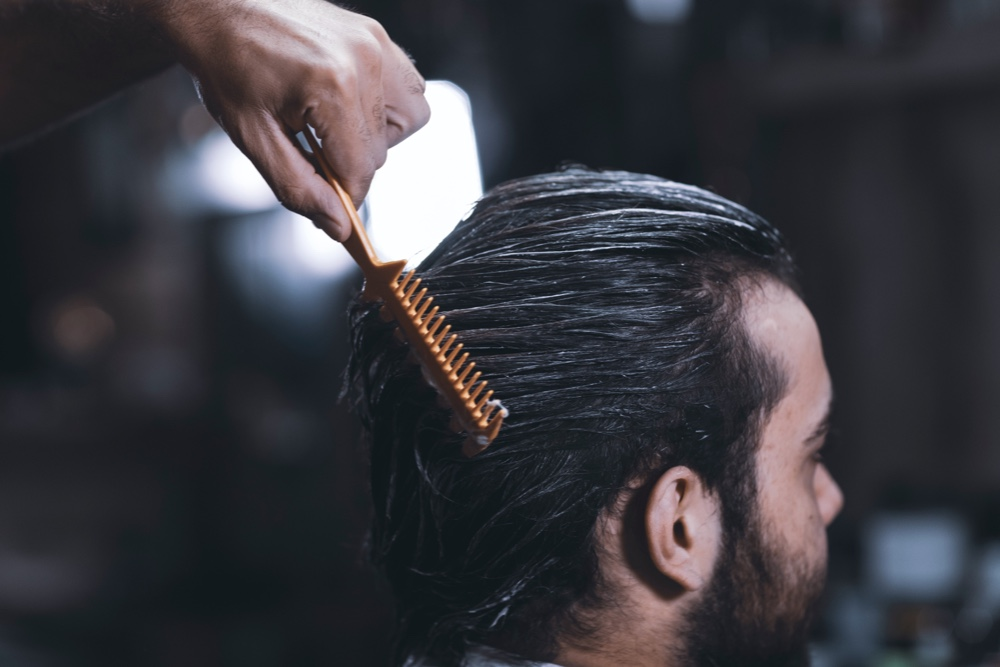 male hair styling