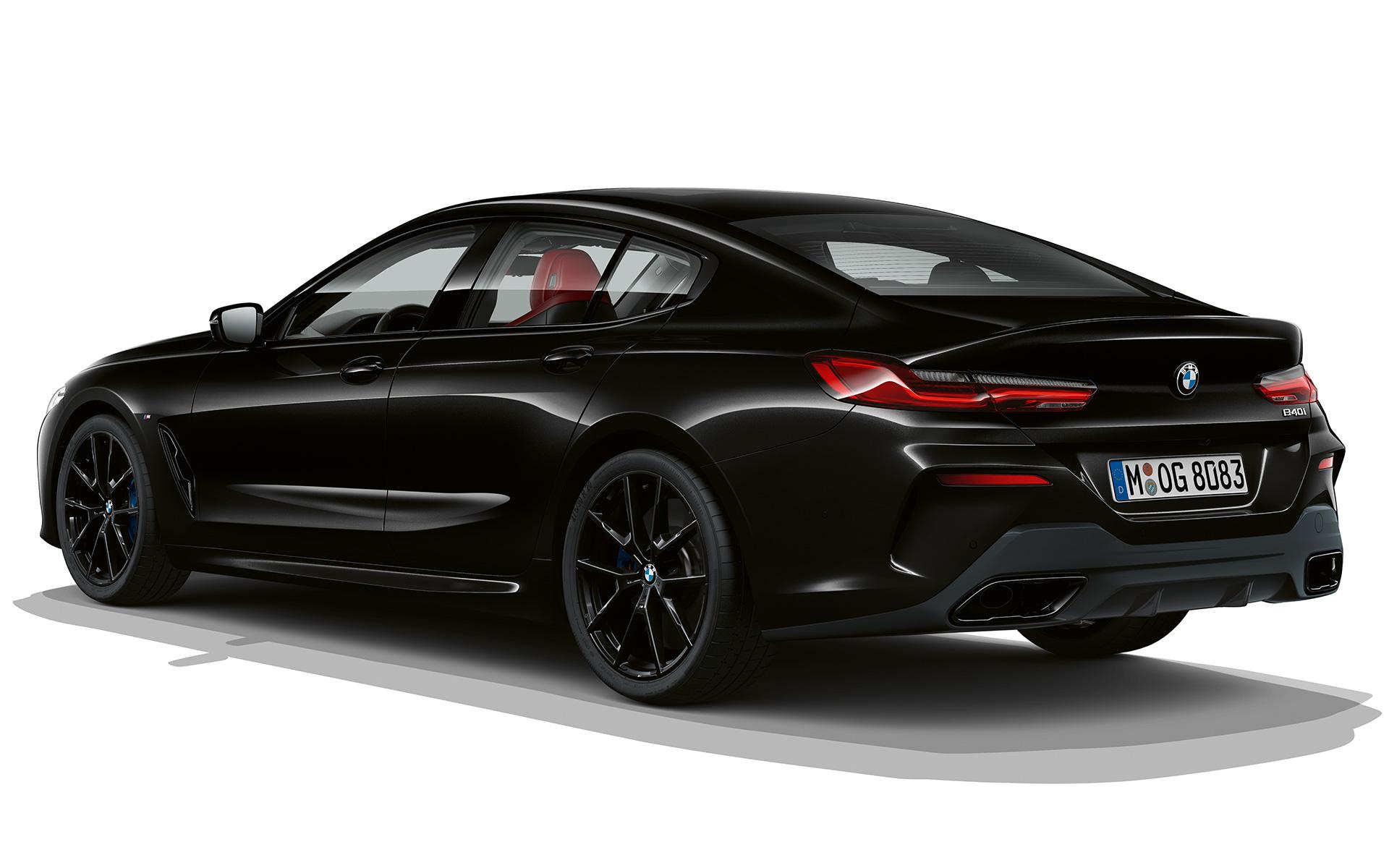 The BMW 8 Gran Coupé