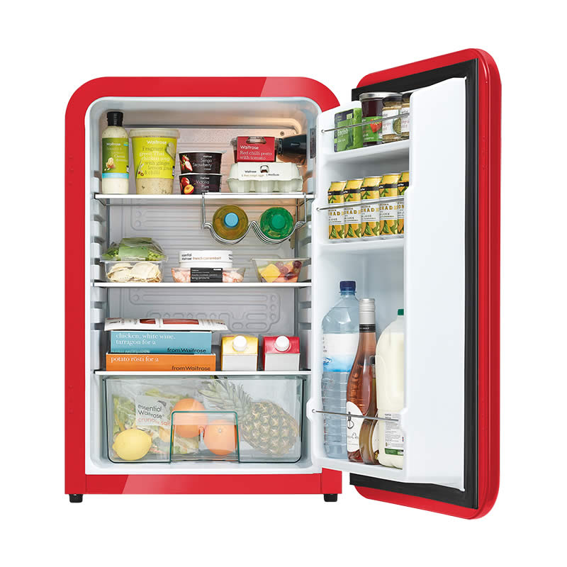 husky retro style bar fridge