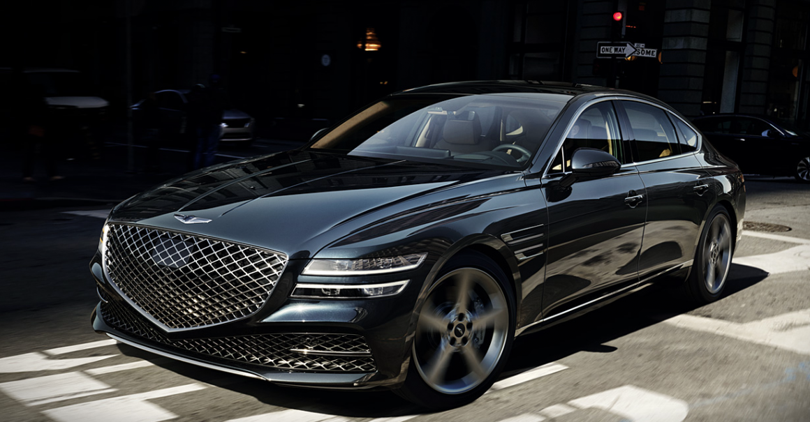 The All New Genesis G80: Where Luxury Meets Power 1
