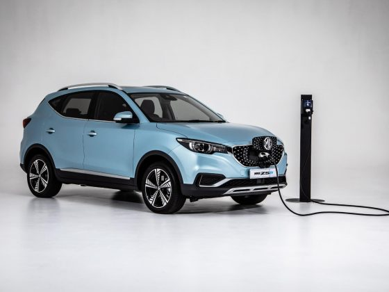 MG ZS EV Structure